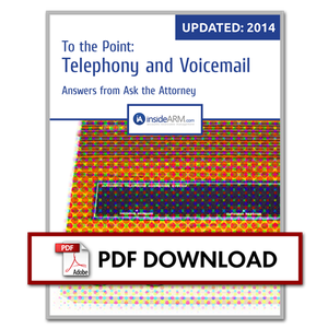 To the Point: Telephony and Voicemail Messages (Updated for 2014)