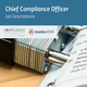 Chief Compliance Officer Job Descriptions