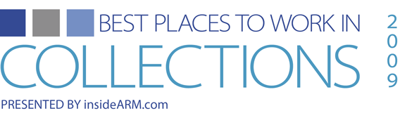 Best Places to Work in Collections 2009 Logo