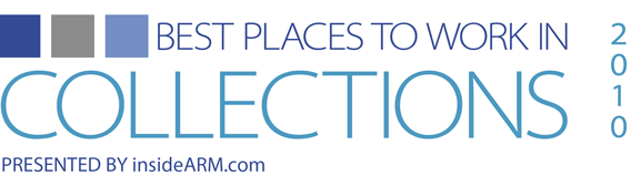 Best Places to Work in Collections 2010 Logo