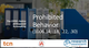 CFPB's Notice of Proposed Rulemaking – Prohibited Behavior Webinar Thumbnail