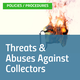 Threats Abuses Against Collectors