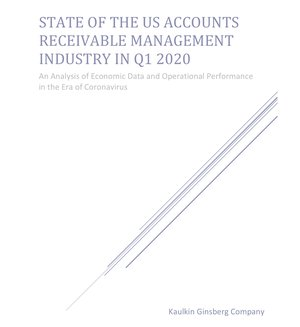 State of the US Accounts Receivable Management Industry in Q1 2020 cover image [Image by creator  from ]
